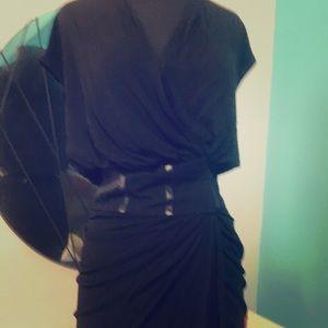 Haute Hippie Bergdorf Goodman wrap Dress